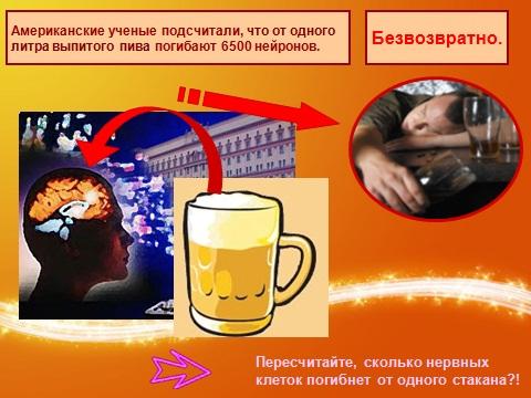 пиво и деградация личности
